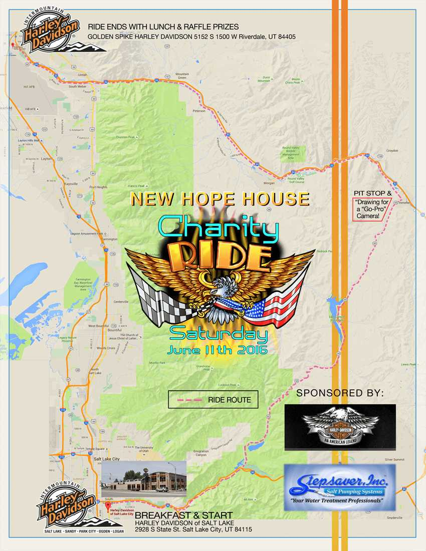 new hope house ride map