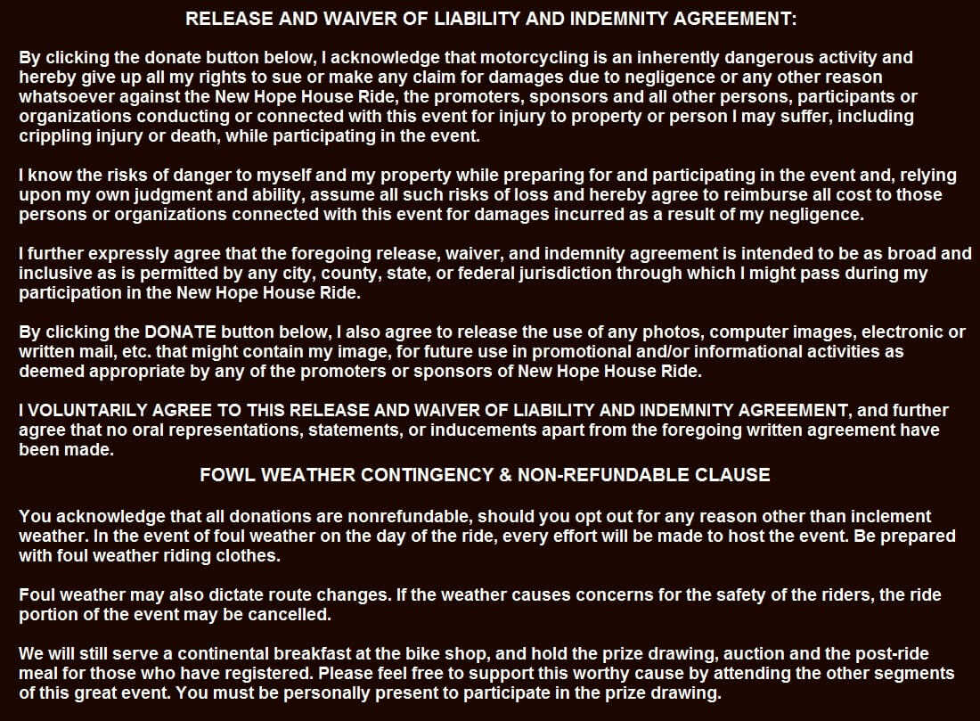 waiver release